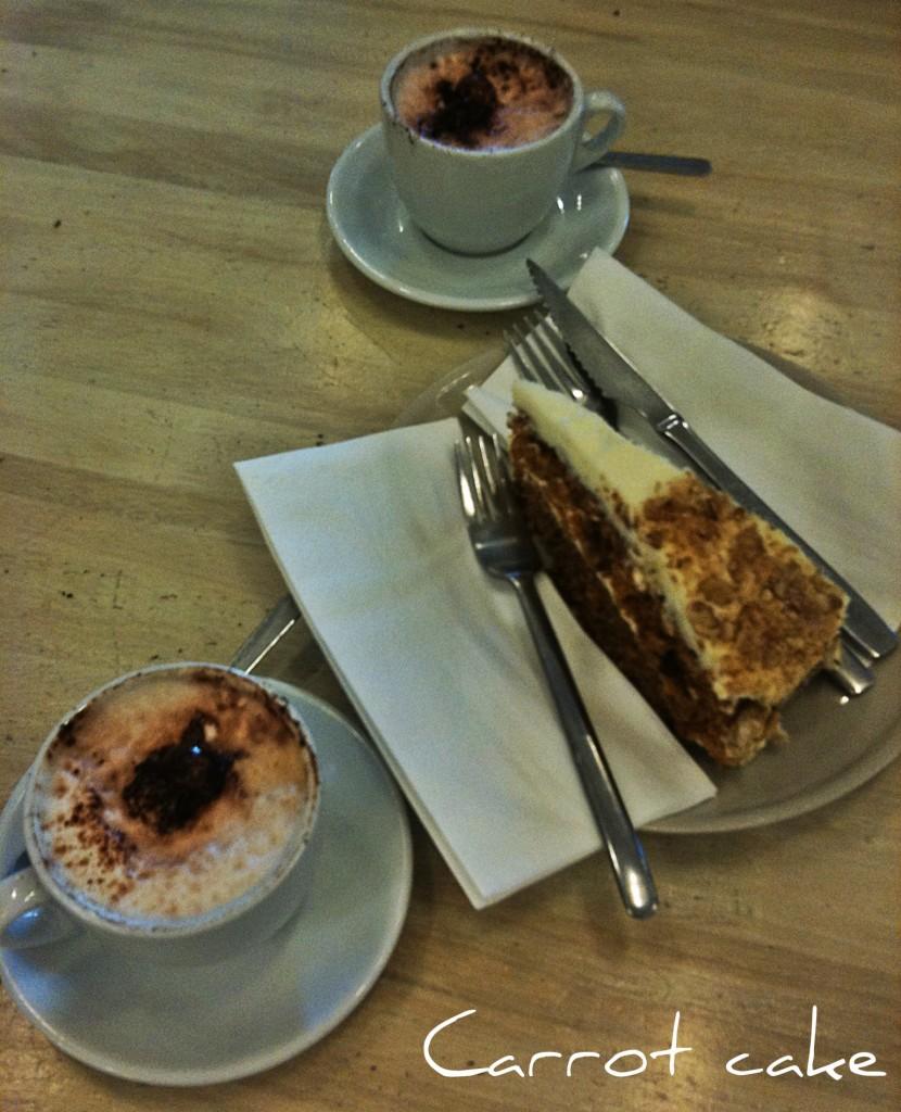 cafes y tartazanahoria
